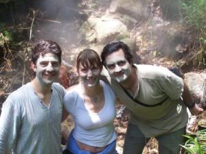 Volcanic mud facial