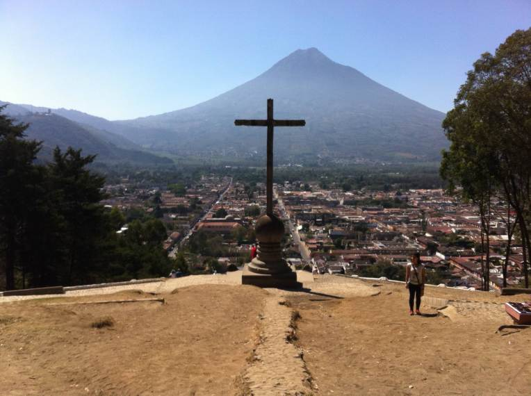 Water Volcano - Antigua, Guatemala