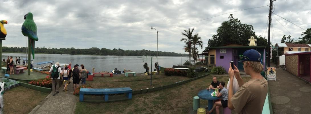 tortuguero boat dock