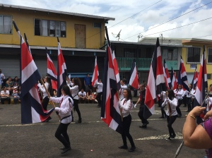 independence parade costa rica