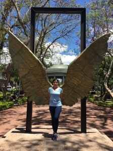 angel wing girl
