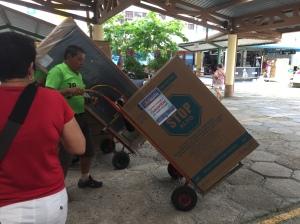 hand cart operator
