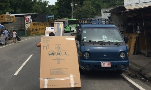 street hand cart transfer