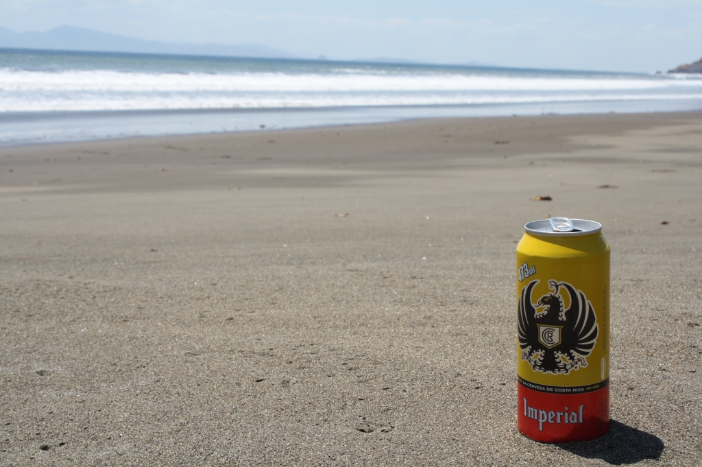 Imperial on beach.