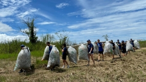plastic removal caravan